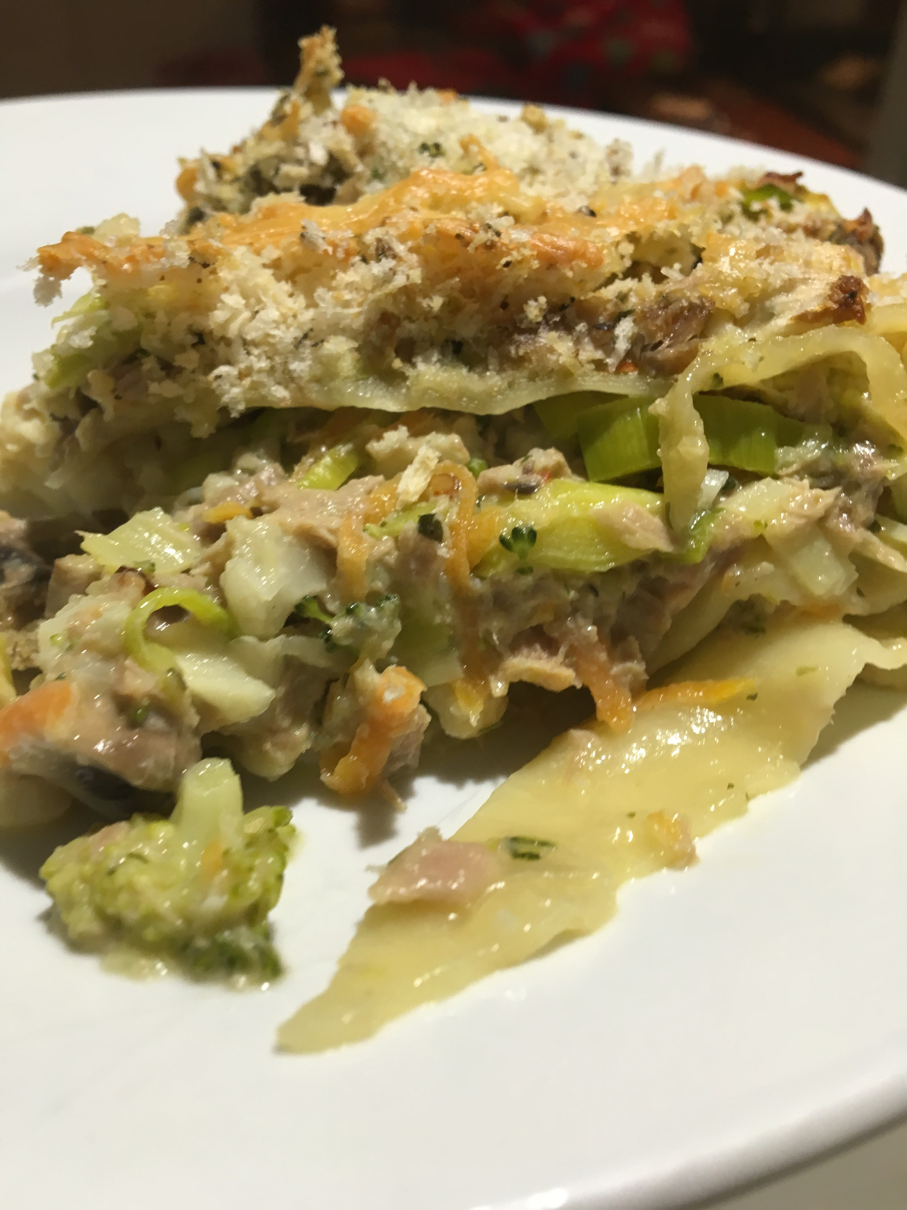 Tuna & Veg Lasagne