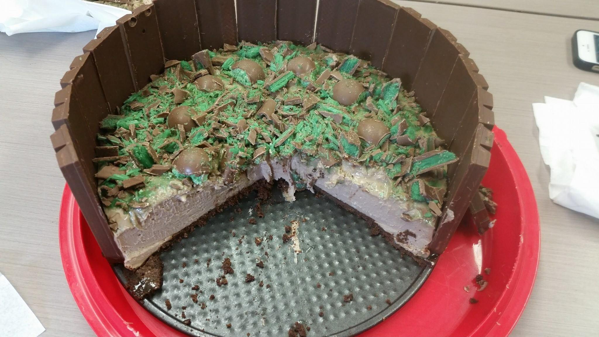 Peppermint Crisp Cheesecake – Linda Russell