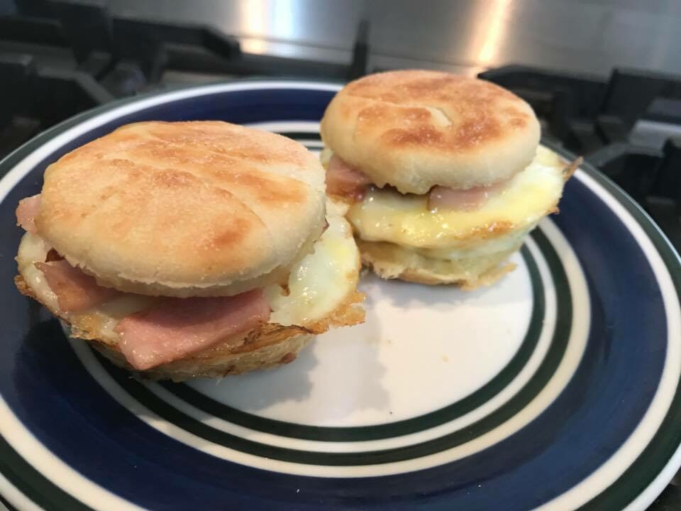 English Muffins made in the Pie Maker – Created by the amazing Peter Michalantos