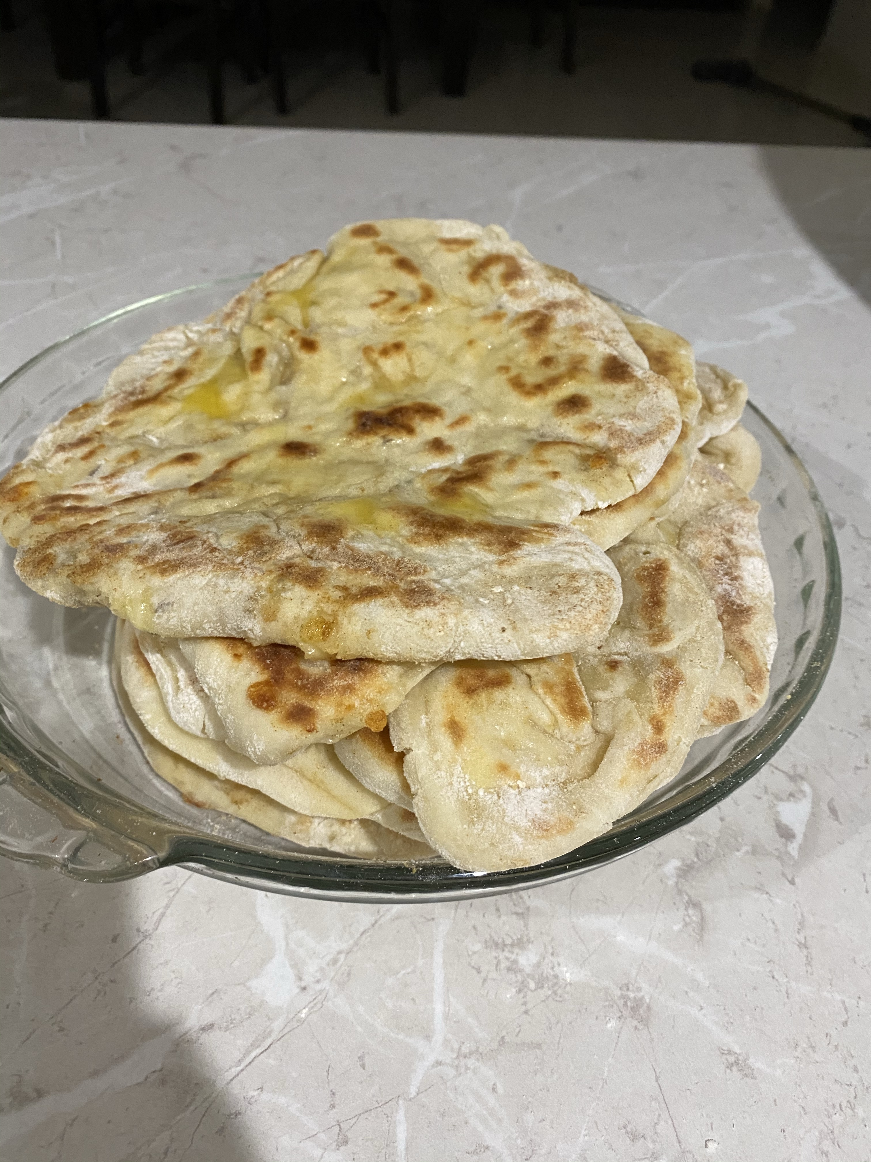 Garlic & Cheese Naan