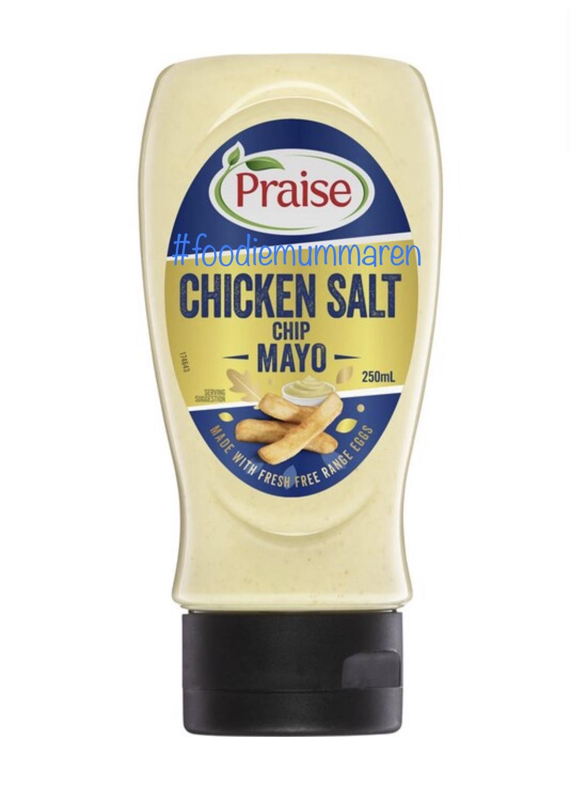 Praise Chicken Salt Chip Mayo!