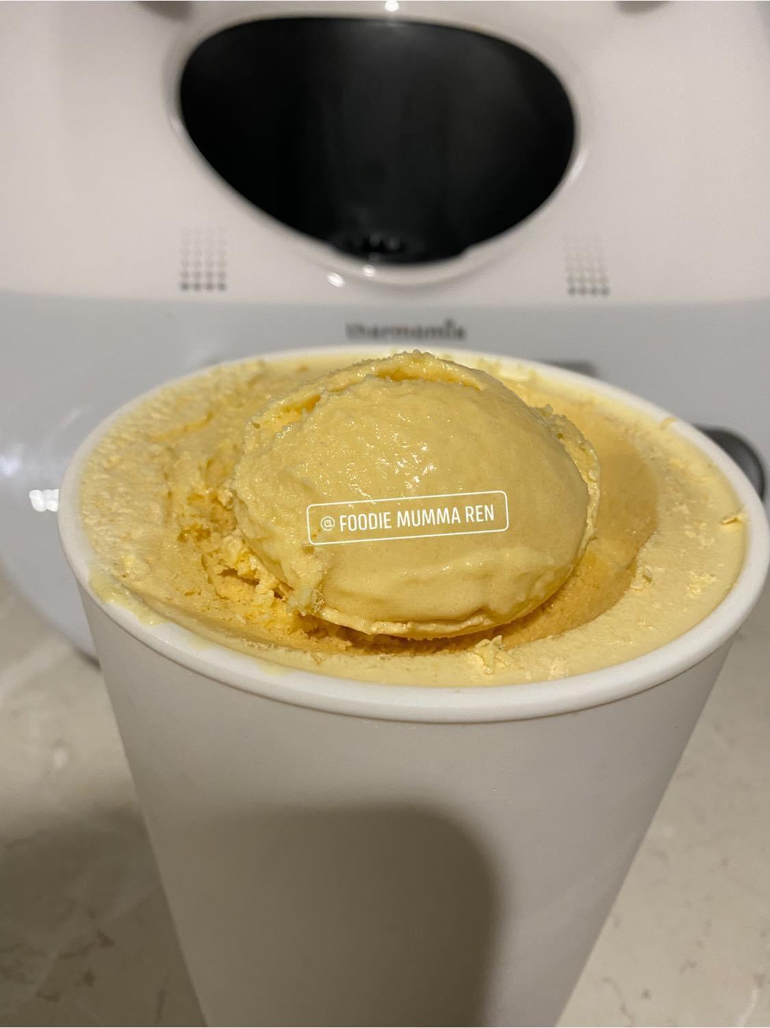 Caramilk Ice Cream